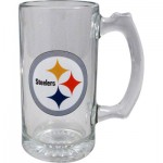 BEER MUG STEELERS GLASS