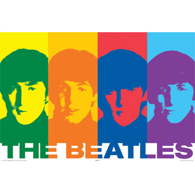 POSTER BEATLES RAINBOW